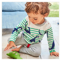 New Design Kids Clothing Sets Stripe Casual Boy Clothes