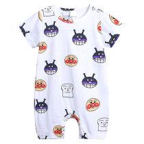 Fashion cartoon printed newborn clothing baby boy bodysuit