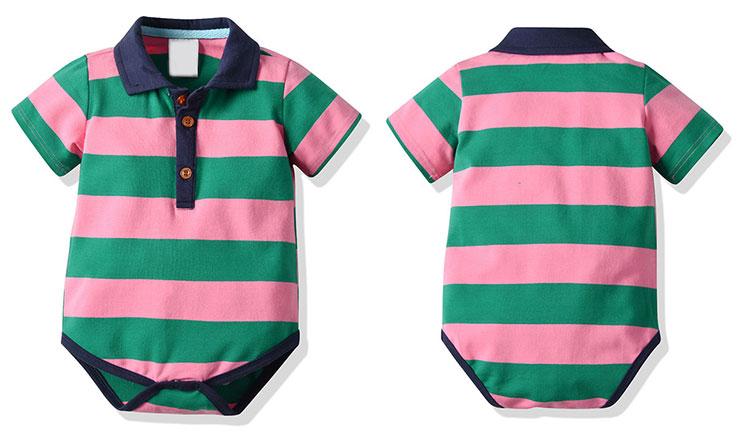 Baby Clothes Romper 100% Cotton Plain Baby Bodysuit