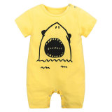 Fashion Printed Baby Cotton Romper New Design Baby Apparel