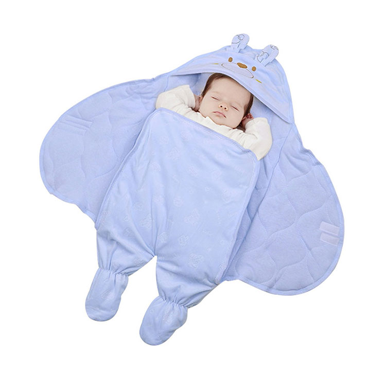Hooded Baby Swaddle Winter Baby Sleeping Bag