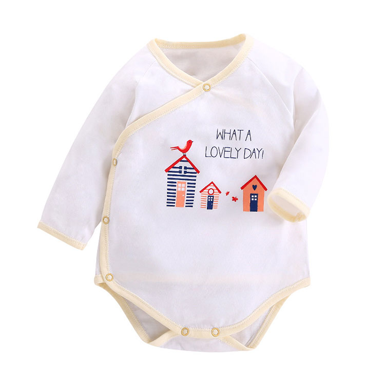 Cotton Baby Bodysuit Fashion Printed Baby Clothes