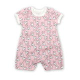 Summer Baby Clothes Cartoon Printed Cotton Baby Rompers