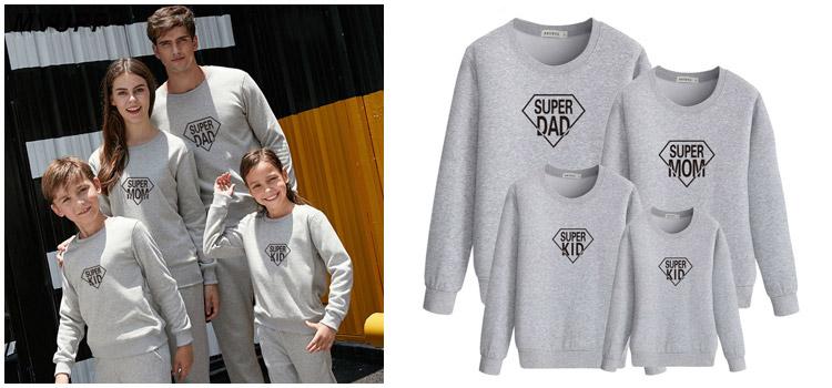 parent-child sweatshirt , parent-child wear