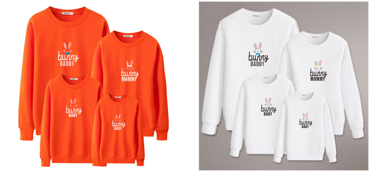 family matching Sweatshirt, parent-child clothing