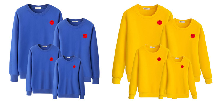 parent-child clothing, sweatshirt