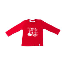 Round Neck Children Clothing Printed Boys T-Shirts
