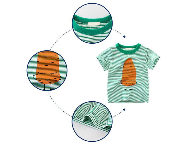 children t-shirt, kids stripe t-shirt
