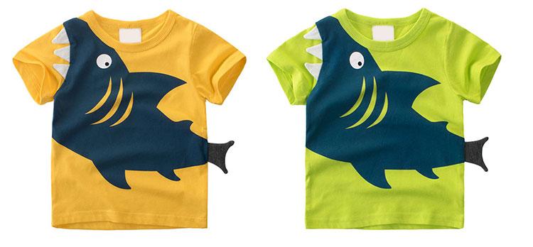 High Quality Summer Kids Clothes Cartoon Boys T-Shirt