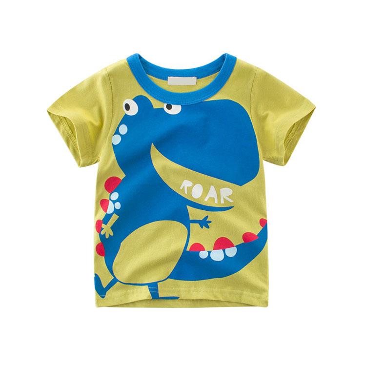 Cheap kids summer clothes cartoon boys t-shirt