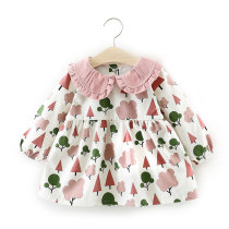 Long Sleeve Baby Dresses Autumn Cotton Girls Dress