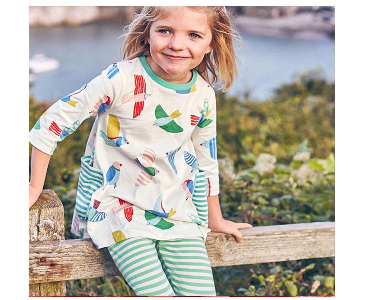 kids girls dress, long sleeve girls dress