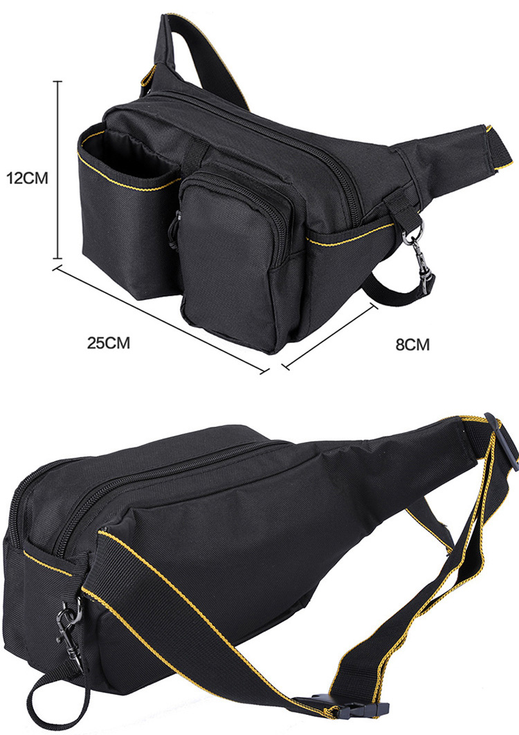 Oxford Fabric Fanny Pack Practical Waist Bag