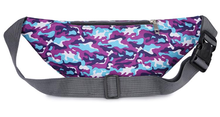 Travel Waist Bag Sports Nylon Fanny Pack For Women