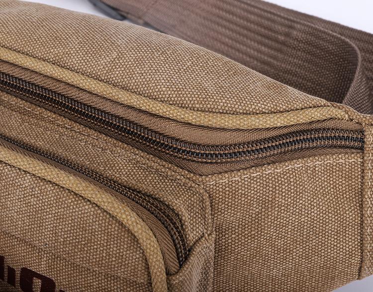 sport fanny pack, canvas waist bag, waist bag