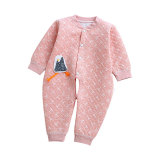 Long Sleeve Infant Winter Clothes Cute Cotton Baby Romper