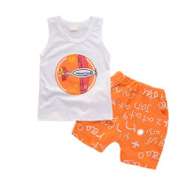 Summer Baby Clothing Set Casual Sleeveless Toddler Outfit