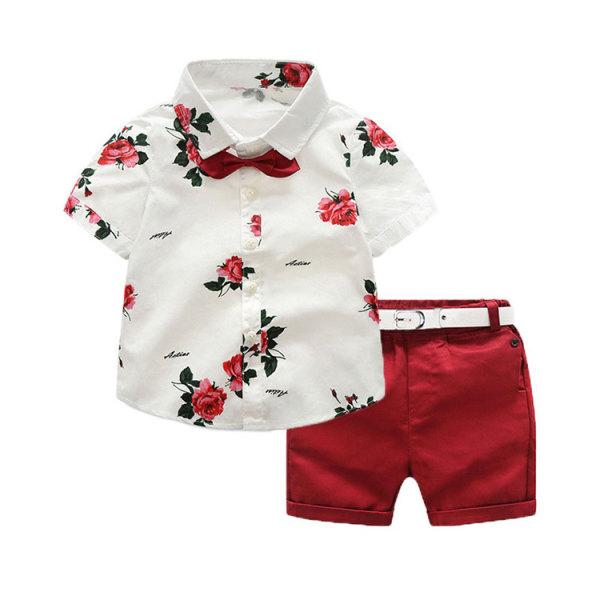 Boutique Kids Clothes Little Boys Summer Clothing Sets