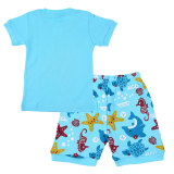Kids Summer Clothing Sets Cartoon Printed Clothes For Children