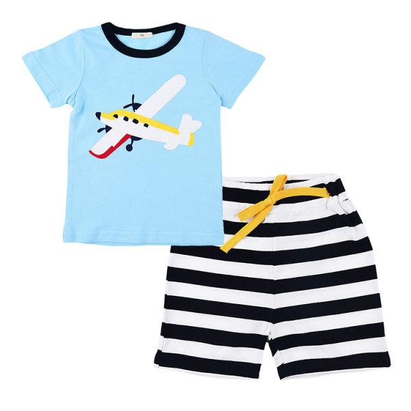 Hot Selling Children Summer Clothes Short Sleeve Kids Clothing Sets