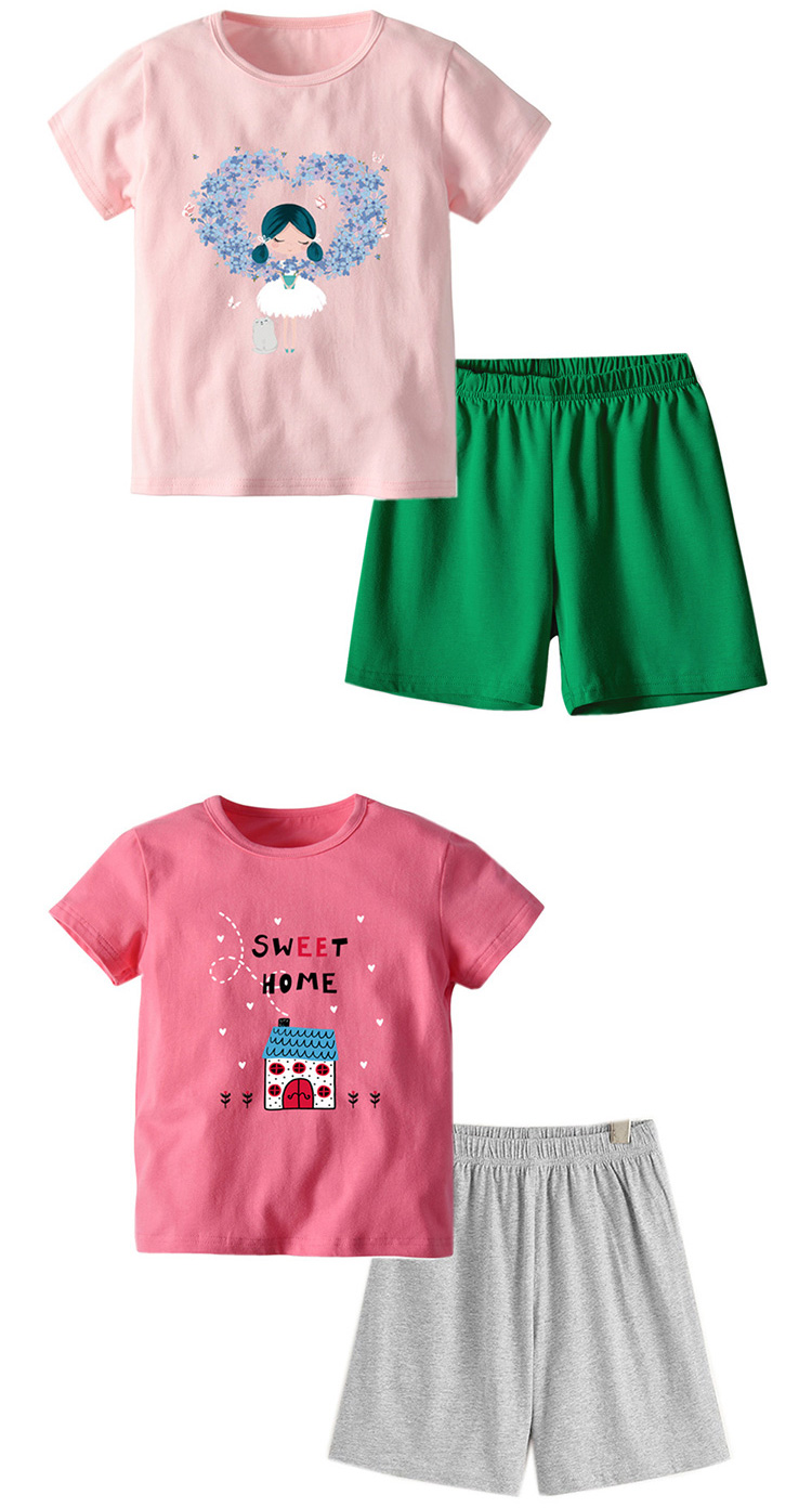 Two Piece Kids Clothing Set Girls Boutique Clothes