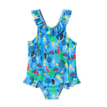New Design Kids Swimwear Cute One Piece Swimsuit
