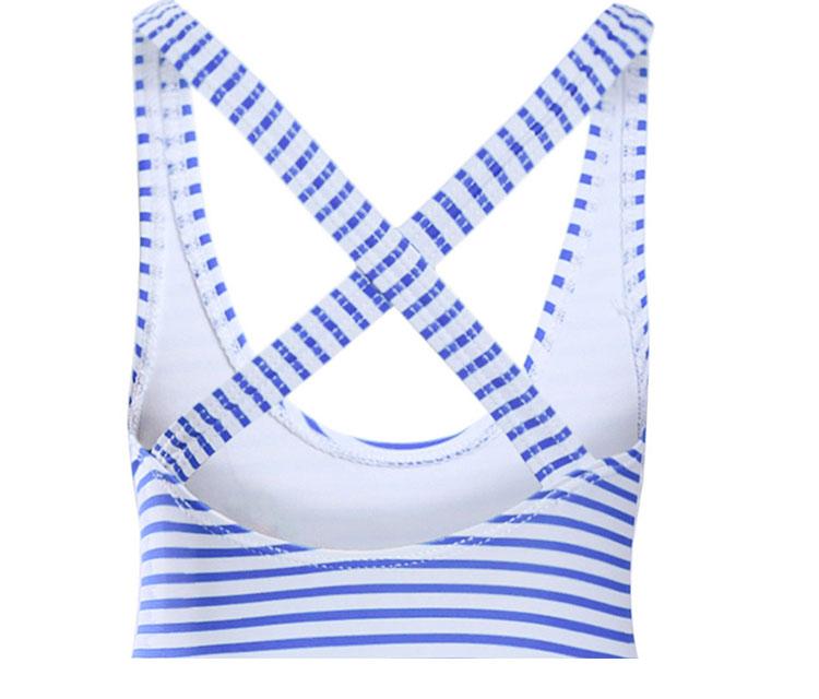 girls one-piece swimwear, little girls striped swimsuit