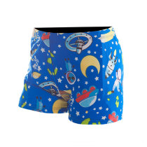 High Elasticity Boys Swim Shorts Cartoon Kids Swimming Pants