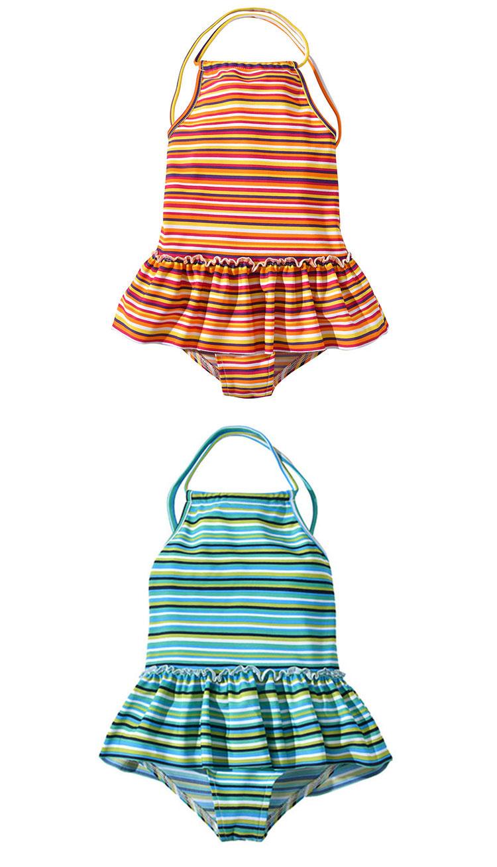 Summer Kids Swimsuit One Piece Swimwear For Girls
