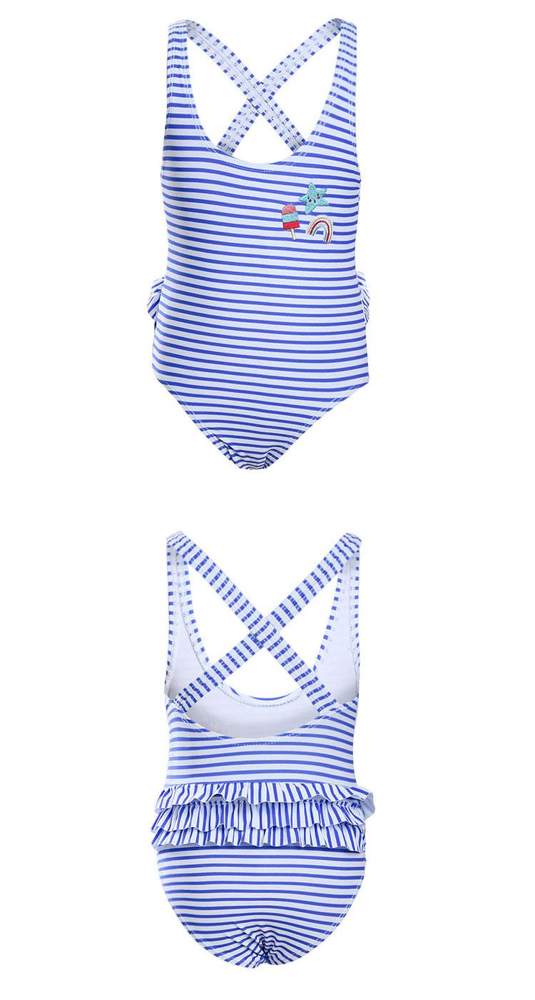 Latest Design Kids Girl Swimsuit Children One-Piece Swimwear