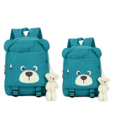 Large Capacity 3D Design School Bag Canvas Backpack For Children