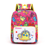 Cartoon Printed Children School Bag Cute Kids Backpack