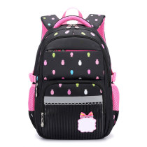 Fashion Kids School Backpack Nylon Fabric School Bag For Student