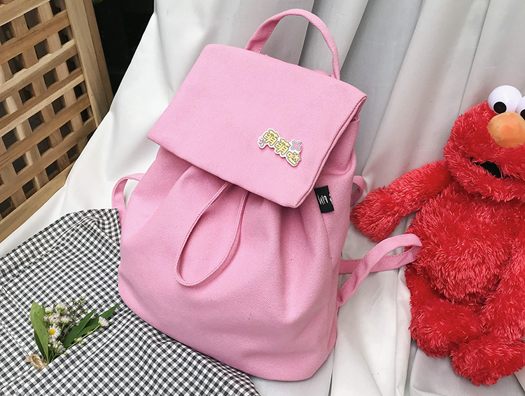 New Style Kids Travel Bags Canvas School Backpacks For Teen Girls