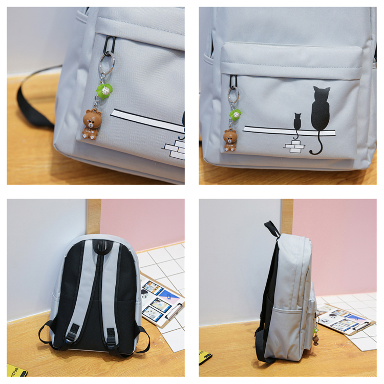 canvas school bag, girls school bag
