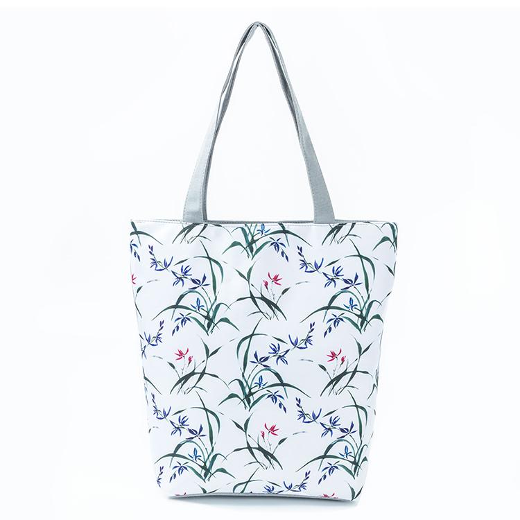 canvas handbag, women fashion handbag