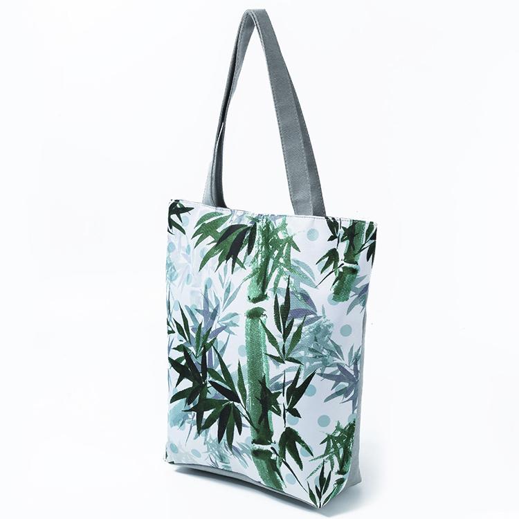 canvas tote bags, women shoulder bag, canvas shopping bag