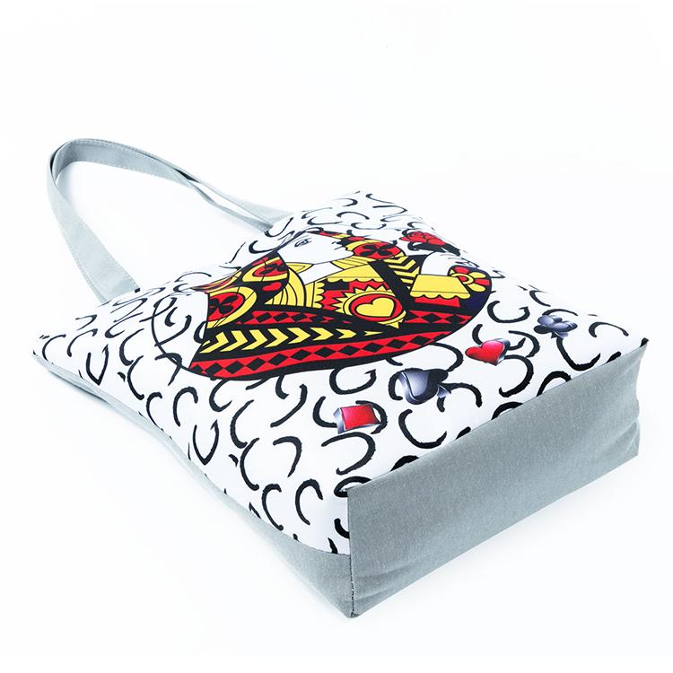 canvas handbag, women fashion handbag, canvas tote bags, canvas shopping bag