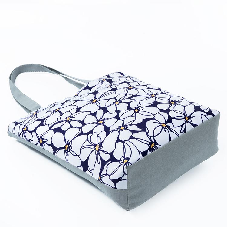 Eco Friendly Tote Bags Women Shoulder Bag Floral Handbag