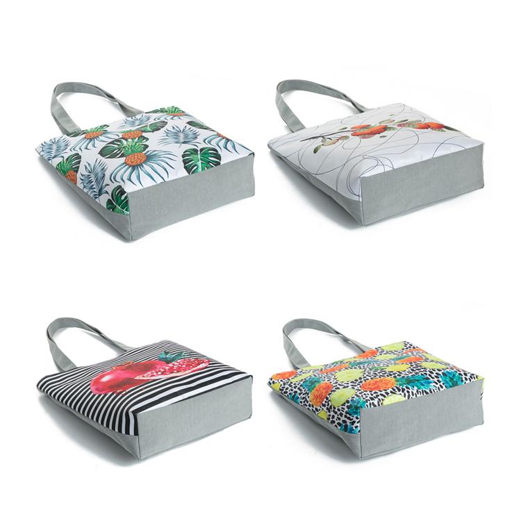 foldable shopping bag, fashion women handbag, canvas handbag