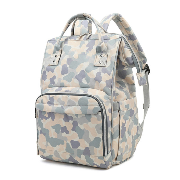 New Camouflage Multi-Function Large Capacity Mummy Backpack Baby Diaper Bag