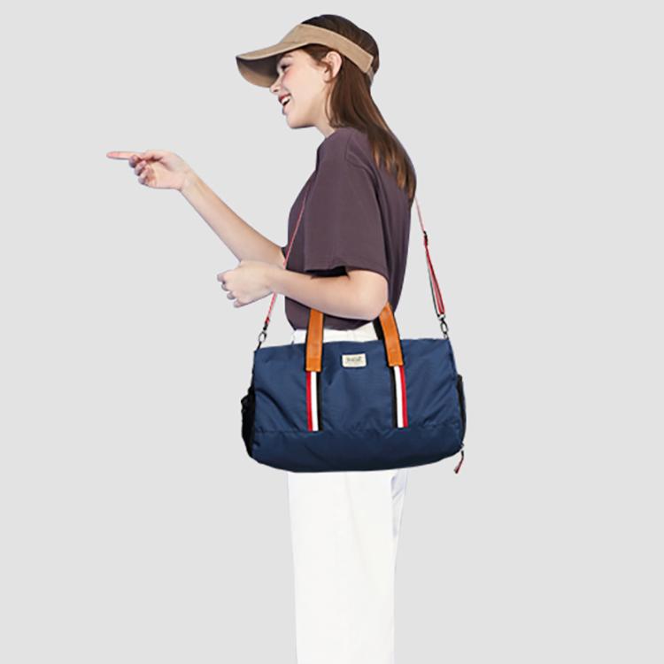 Solid Color Outdoor Travel Pack Fitness Yoga Bag Large Sports Bag