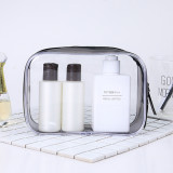 Quality Transparent PVC Cosmetic Bag Clear Travel Toiletry Bag