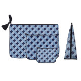 Fashion Printing 4 Pcs Women Cosmetic Bag Sets Travel Toiletry Bag