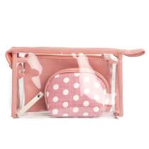 Transparent Cosmetic Bag Pvc Travel Makeup Pouch