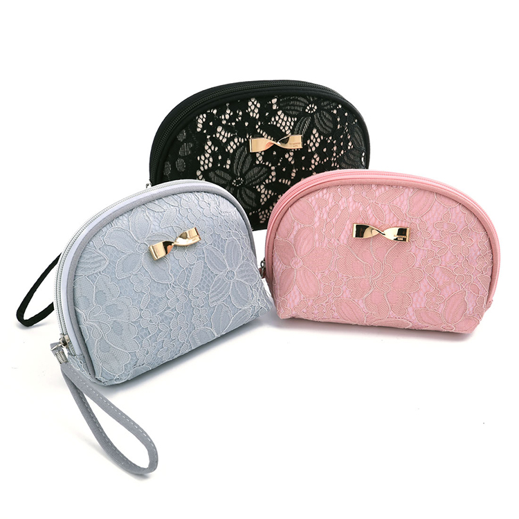 Travel Cosmetic Case Embroidery Makeup Bag Storage Wash Bag