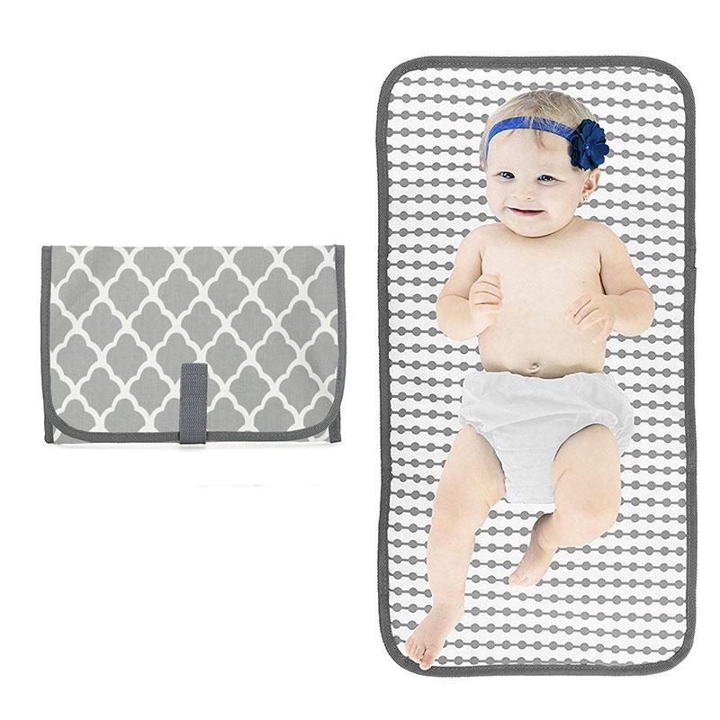 baby changing bag, portable diaper changing mat, waterproof baby diaper mat, portable diaper pad