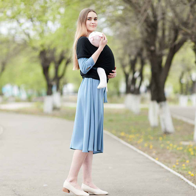 High Quality Solid Color Baby Sling Straps Baby Belt