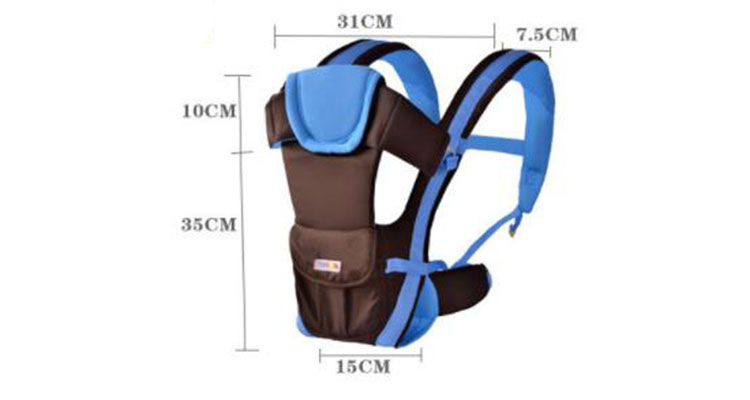 Multifunctional Cotton Baby Wrap Shoulders Baby Carrier