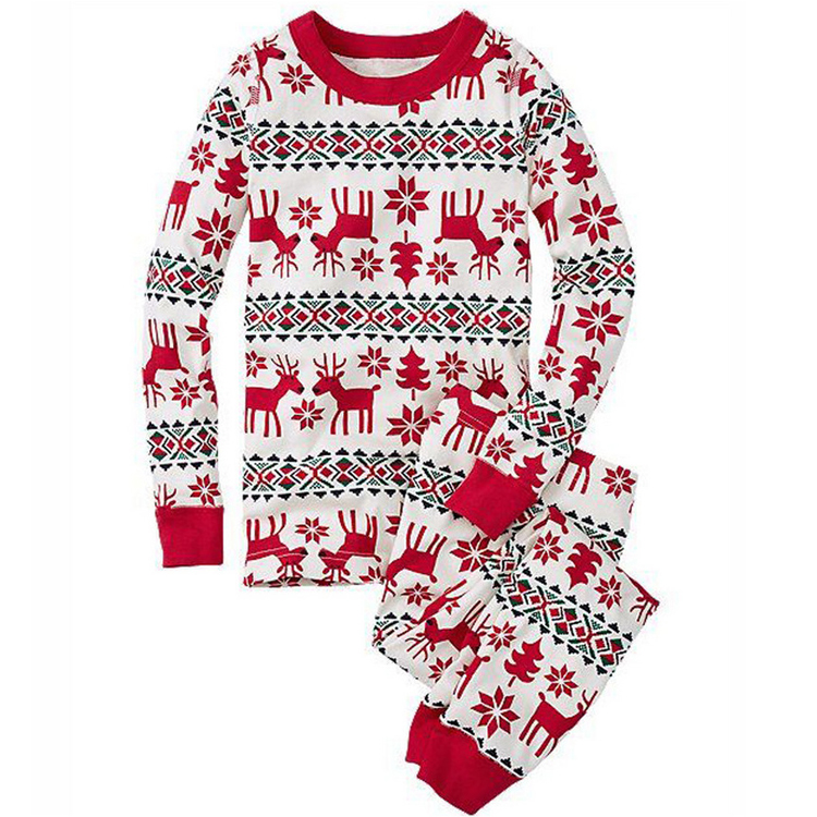 parent-child wear, pajamas women, Christmas costume, Christmas family matching clothing, family matching clothing set